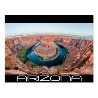 horseshoe bend arizona postcard