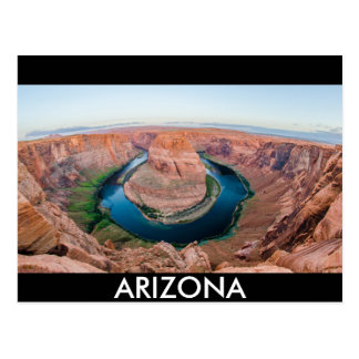 horseshoe bend arizona postcard