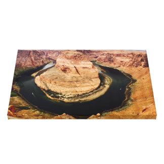Horseshoe Bend, Arizona, USA Canvas Print