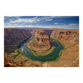Horseshoe Bend, Arizona, USA Poster