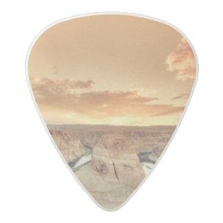 Horseshoe Bend Caynon Acetal Guitar Pick