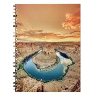 Horseshoe Bend Caynon Spiral Notebook