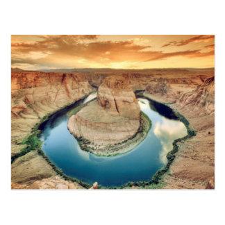 Horseshoe Bend Caynon Postcard