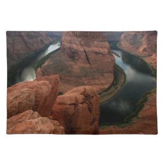 Horseshoe Bend, Colorado River Arizona Cloth Placemat