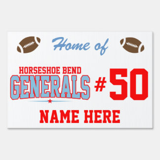 Horseshoe Bend High School; Generals Sign