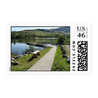Horseshoe Bend Mill Pond Boating Access Postage