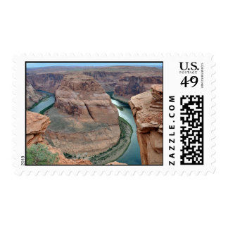 Horseshoe Bend on Colorado River Postage Stamps