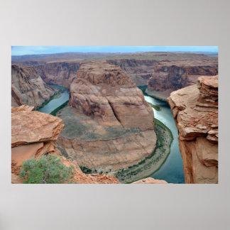 Horseshoe Bend on the Colorado River - Arizona Poster