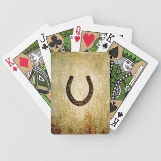 Horseshoe Bicycle Playing Cards