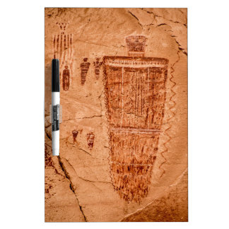 Horseshoe Canyon Great Gallery Figure Dry Erase Board