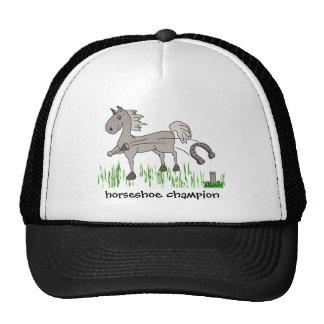 horseshoe champion trucker hats