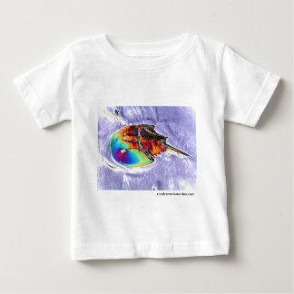 Horseshoe Crab Foil Design Baby T-Shirt