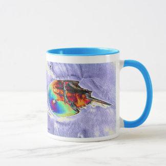 Horseshoe Crab Foil Design Mug