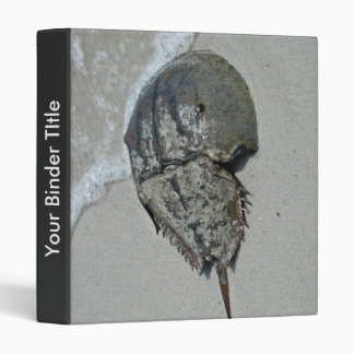 Horseshoe Crab - male Vinyl Binder
