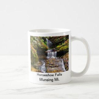 Horseshoe Fall Munising Mi. Coffee Mug