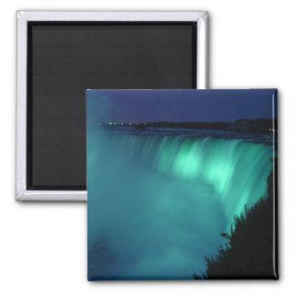 Horseshoe Falls at Niagara Falls Aqua Glow Magnet