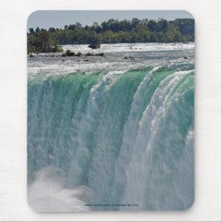 Horseshoe Falls at Niagara Falls, Canada-US Border Mouse Pad