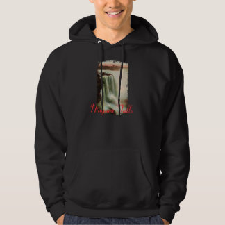 Horseshoe Falls at Niagara Hooded Sweatshirt