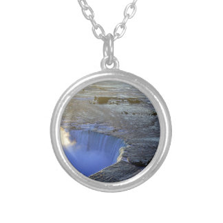 Horseshoe Falls, Canada Silver Plated Necklace