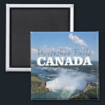 """Horseshoe Falls Canada Travel Souvenir Magnet<br><div class=""""desc"""">Tip: dated travel magnets are a great way to chronicle your travels and Zazzle makes it easy to add a date.</div>"""