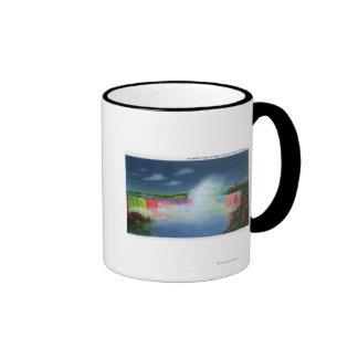 Horseshoe Falls Illuminated at Night # 2 Mug