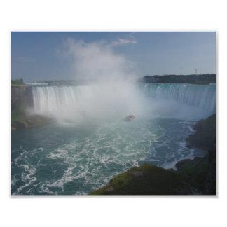 Horseshoe Falls in Niagara Falls Photo Print