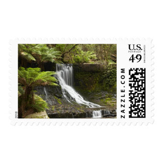 Horseshoe Falls Mount Field National Park Stamps