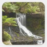 Horseshoe Falls, Mount Field National Park, Square Sticker