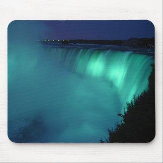 Horseshoe Falls Niagara Falls Aqua Glow Mousepad