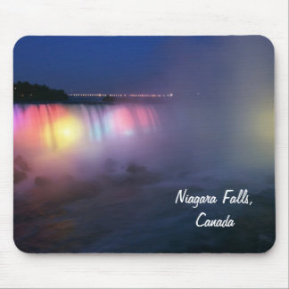 Horseshoe Falls ( Niagara Falls) at night Mousepads