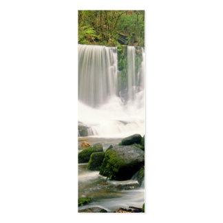 Horseshoe Falls Tasmania Australia Mini Business Card