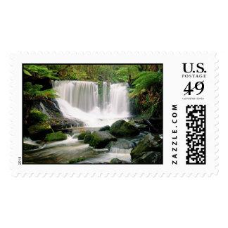 Horseshoe Falls Tasmania Australia Stamps