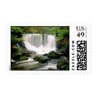 Horseshoe Falls Tasmania Australia Stamp