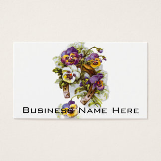 HorseShoe Florals Business Card
