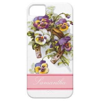 HorseShoe Florals iPhone SE/5/5s Case