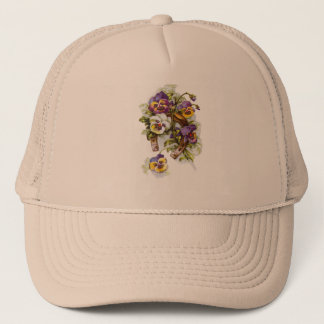 HorseShoe Florals Trucker Hat