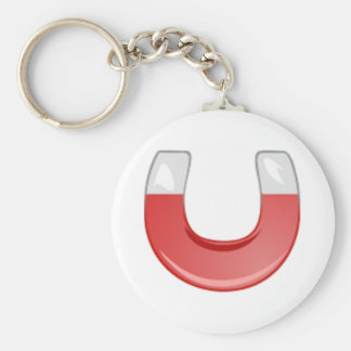 Horseshoe Magnet Key Chain