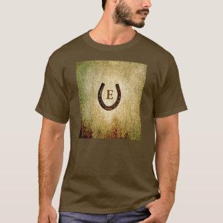 Horseshoe Monogrammed Personalized T-Shirt