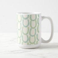 Horseshoe Mug in Mint