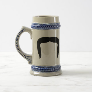 Horseshoe Mustache 18 Oz Beer Stein