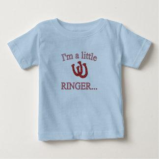 HorseShoe Pitching Infant T-Shirt-Lite Blue Baby T-Shirt