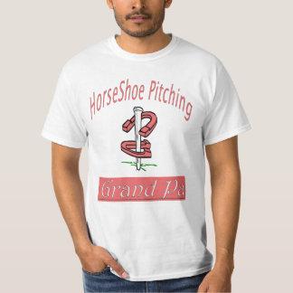 HorseShoe Pitching Value Tee- Grand Pa T-Shirt
