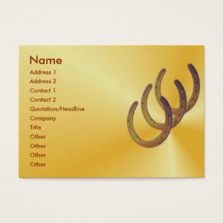 Horseshoe Profile Card