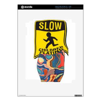 Horseshoe Slow Children Playing Skins For iPad 2