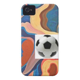 Horseshoe Soccer Ball Case-Mate iPhone 4 Case