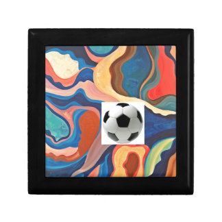 Horseshoe Soccer Ball Jewelry Box