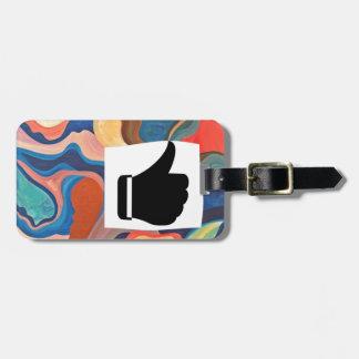 Horseshoe Thumbs Up Luggage Tag
