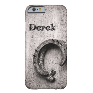 Horseshoe Vintage Sepia Photograph Barely There iPhone 6 Case