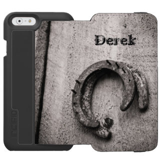 Horseshoe Vintage Sepia Photograph iPhone 6/6s Wallet Case