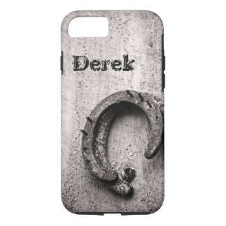 Horseshoe Vintage Western Sepia Photograph iPhone 7 Case